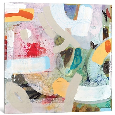 East Urban Home 'Changed My Mind IV' Painting Print on Wrapped Canvas; 12'' H x 12'' W x 1.5'' D