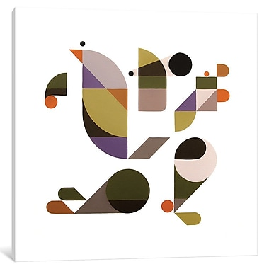 East Urban Home 'Bended Knee' Graphic Art on Wrapped Canvas; 37'' H x 37'' W x 0.75'' D