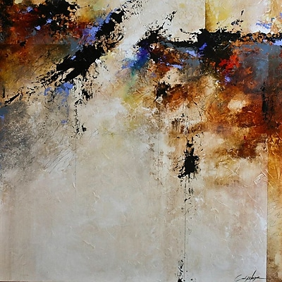 East Urban Home 'Fallen Light' Painting Print on Wrapped Canvas; 26'' H x 26'' W x 0.75'' D