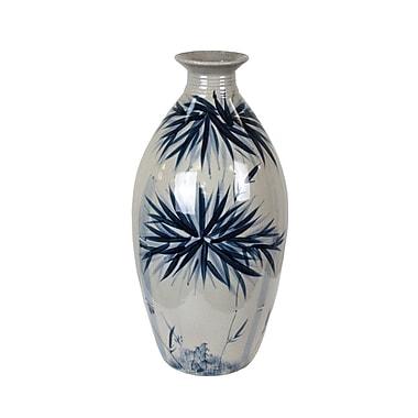 Bay Isle Home Novelty Bamboo Burst Table Vase
