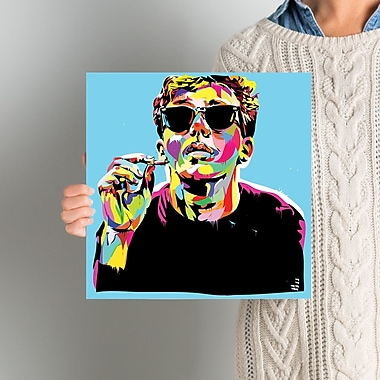 East Urban Home 'Breakfast Club I' Graphic Art on Wrapped Canvas; 12'' H x 12'' W x 1.5'' D