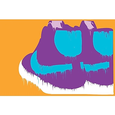 East Urban Home 'Nike-Creams' Graphic Art on Wrapped Canvas; 18'' H x 26'' W x 1.5'' D