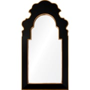 Mirror Image Home Bunny Williams Framed Accent Mirror; Onyx