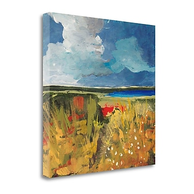 Tangletown Fine Art 'Spring Wildflowers' Print on Canvas; 20'' H x 20'' W