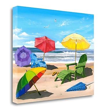 Tangletown Fine Art 'Sun Screen' Print on Canvas; 20'' H x 24'' W