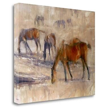 Tangletown Fine Art 'Kentucky Morning 3' Print on Canvas; 28'' H x 34'' W