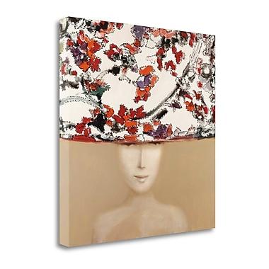 Tangletown Fine Art 'Stitch Hat' Print on Canvas; 20'' H x 20'' W