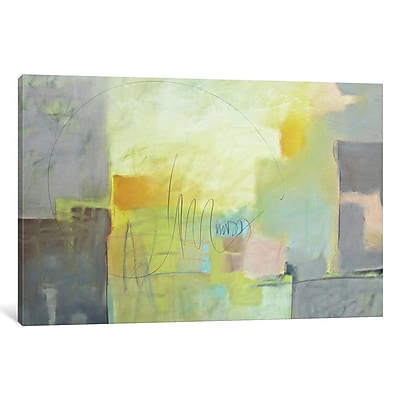East Urban Home 'Echo II' Painting on Wrapped Canvas; 12'' H x 18'' W x 0.75'' D