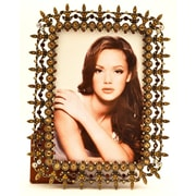 World Menagerie Vertical/Horizontal Picture Frame; 4'' x  6''