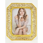 World Menagerie 2-Way Easel Design Picture Frame; Gold