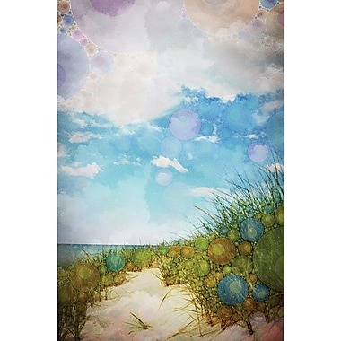 East Urban Home Beach by Olivia Joy Graphic Art on Wrapped Canvas; 18'' H x 12'' W x 0.75'' D