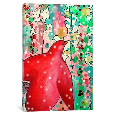 East Urban Home 'Noel 2' Graphic Art on Wrapped Canvas; 18'' H x 12'' W x 1.5'' D