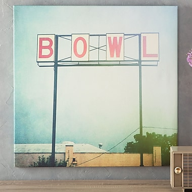 East Urban Home 'Bowl' Photographic Print on Wrapped Canvas; 12'' H x 12'' W x 1.5'' D