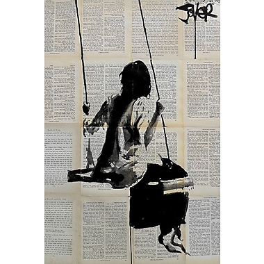 East Urban Home 'Years and Years' Graphic Art on Wrapped Canvas; 40'' H x 26'' W x 0.75'' D
