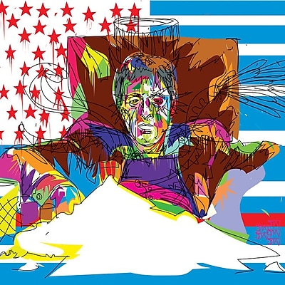 East Urban Home 'Scarface' Graphic Art on Wrapped Canvas; 37'' H x 37'' W x 1.5'' D