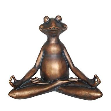 Bloomsbury Market Modern Decorative Resin Yoga Frog Figurine