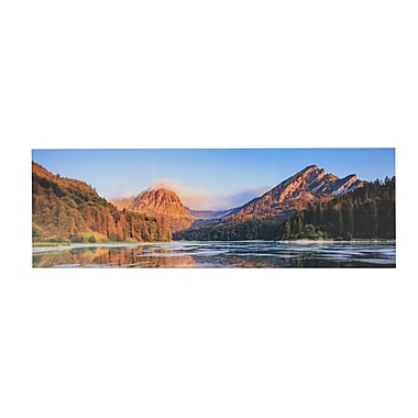 Loon Peak 'Valley View' Photographic Print on Canvas