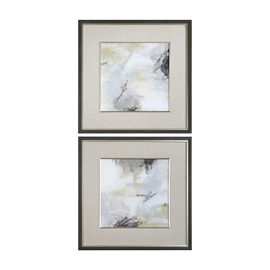 Latitude Run 'Abstract Vistas' 2 Piece Framed Print Set (Set of 2)