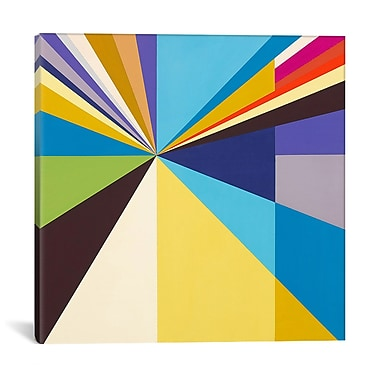 East Urban Home 'The Luminous Emotion' Graphic Art on Wrapped Canvas; 37'' H x 37'' W x 0.75'' D