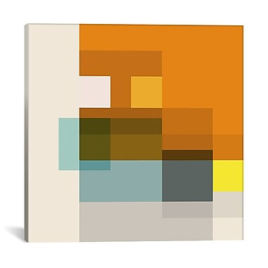East Urban Home 'Pataphysical' Square Graphic Art on Wrapped Canvas; 12'' H x 12'' W x 0.75'' D
