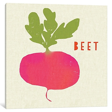 East Urban Home 'Summer Vegetable I' Graphic Art on Wrapped Canvas; 37'' H x 37'' W x 1.5'' D