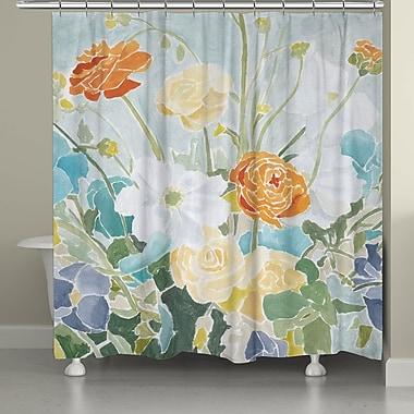 Red Barrel Studio Lavon Spring Floral Shower Curtain
