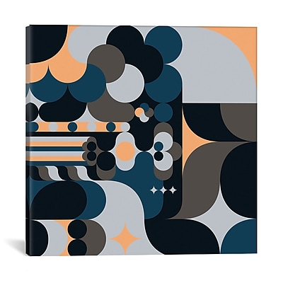 East Urban Home 'Cloud' Graphic Art on Wrapped Canvas; 18'' H x 18'' W x 0.75'' D