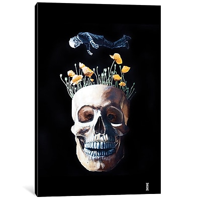 East Urban Home 'Fearless II' Graphic Art on Wrapped Canvas; 18'' H x 12'' W x 0.75'' D