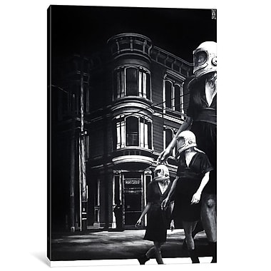 East Urban Home 'This Way Comes' Graphic Art on Wrapped Canvas; 18'' H x 12'' W x 0.75'' D