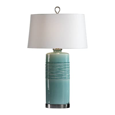 Bungalow Rose Colindale Distressed 32'' Table Lamp