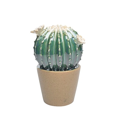 Bungalow Rose Ceramic Cactus Decoration Sculpture
