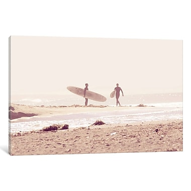 East Urban Home Board Meeting Photographic Print on Wrapped Canvas; 12'' H x 18'' W x 1.5'' D