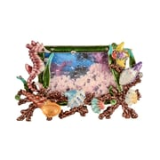 Highland Dunes Mini Sea Life Picture Frame; Green