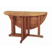 Bayou Breeze Fabius Round Folding Dining Table