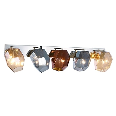 Ivy Bronx Cooley 5-Light Vanity Light