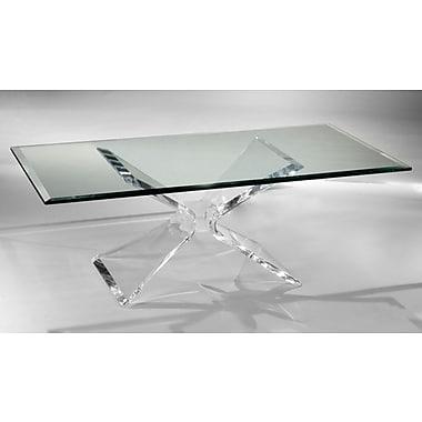 Muniz Butterfly Coffee Table; 17.5'' H x 24'' W x 48'' D