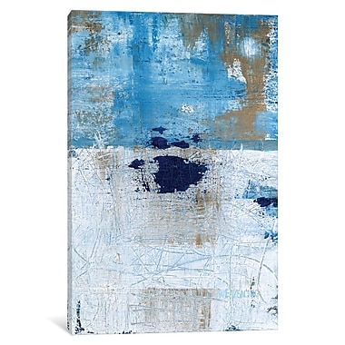 East Urban Home 'Explore Painting' Print on Wrapped Canvas; 26'' H x 18'' W x 1.5'' D