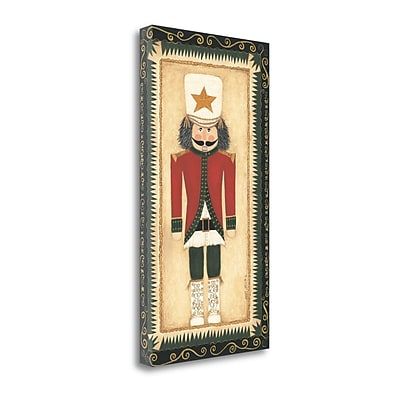 Tangletown Fine Art 'Nutcracker I' Shamp Print on Canvas; 48'' H x 26'' W