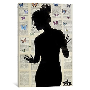 East Urban Home 'Butterfly Effect' Graphic Art on Wrapped Canvas; 18'' H x 12'' W x 0.75'' D