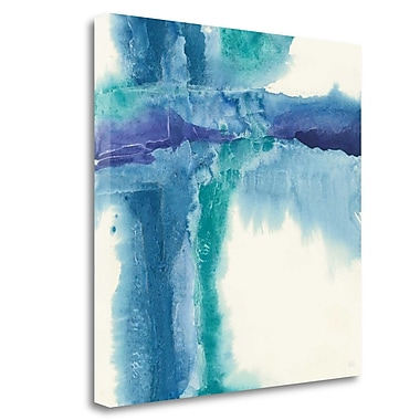 Tangletown Fine Art 'Jewel Tones I' Print on Canvas; 35'' H x 35'' W