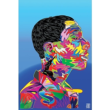 East Urban Home 'Pharrell' Graphic Art on Wrapped Canvas; 18'' H x 12'' W x 1.5'' D