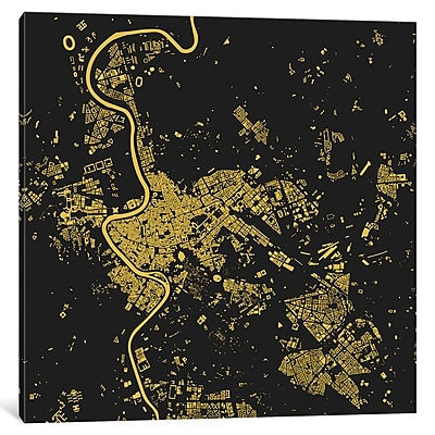 East Urban Home 'Rome' Graphic Art on Wrapped Canvas; 12'' H x 12'' W x 1.5'' D
