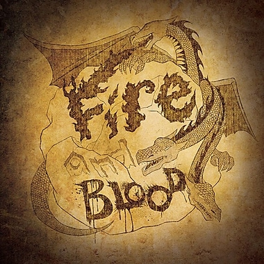 East Urban Home 'House Targaryen - Fire and Blood' Graphic Art on Wrapped Canvas
