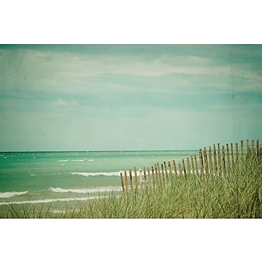 East Urban Home Summer at the Beach by Olivia Joy Photographic Print on Wrapped Canvas