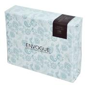 Ophelia & Co. Machias 200 Thread Count 3 Piece 100pct Percale Cotton Sheet Set; Dust Blue