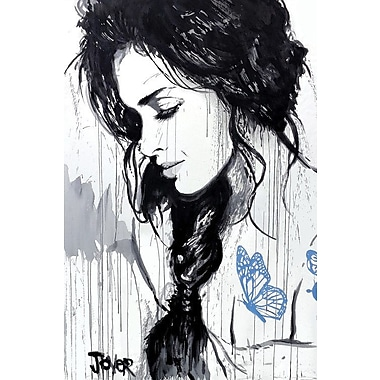 East Urban Home 'The Tattoo' Graphic Art on Wrapped Canvas; 26'' H x 18'' W x 0.75'' D