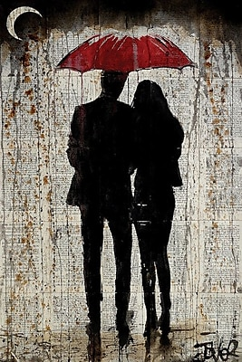 East Urban Home 'Some Rainy Day' Graphic Art on Wrapped Canvas; 40'' H x 26'' W x 0.75'' D