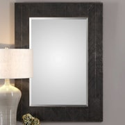 Bungalow Rose Rectangle Oxidized Accent Mirror