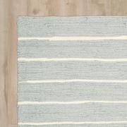 Highland Dunes Gwyneth Hand-Woven Light Gray Area Rug