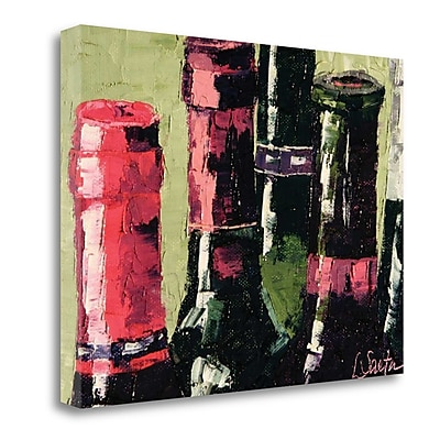 Tangletown Fine Art 'Still Corked' Print on Wrapped Canvas; 23'' H x 30'' W
